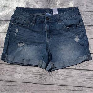 Jean shorts size 8